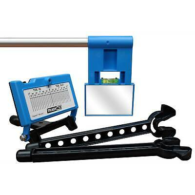 Trackace Laser Wheel Alignment Tracker / Tracking Toe Gauge Including Carry Case