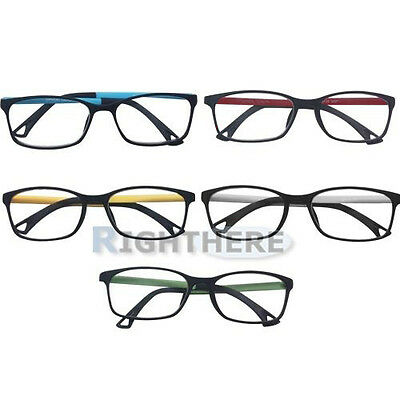 Brand New Matt Fashion 3 Pairs Plastic Standard Reading Glasses +1.0 ~ +3.5