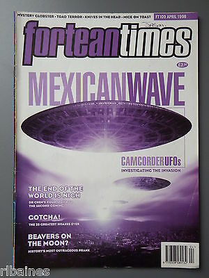 R&L Mag: Fortean Times April 1998, Hoaxes/Mexico UFO Eclipse/1835 Moon Hoax
