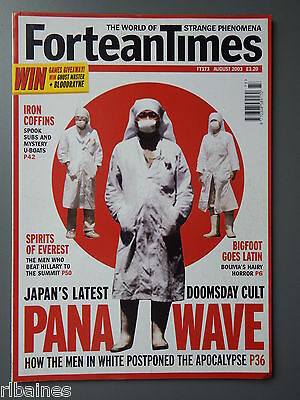 R&L Mag: Fortean Times August 2003, Pana Wave Cult/Everest Ghosts/Submarine...