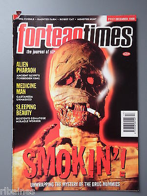 R&L Mag: Fortean Times December 1998, Pharaoh Alien/Egyptian Drugs/C Castaneda