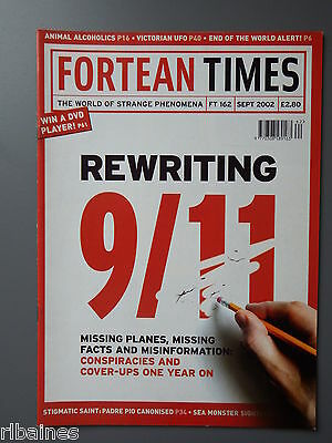 R&L Mag: Fortean Times September 2002, 911 Conspiracy/Stigmatics/1868 AUS UFO