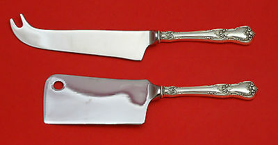 Memory Lane by Lunt Sterling Silver Cheese Server Serving Set 2pc HHWS  Custom