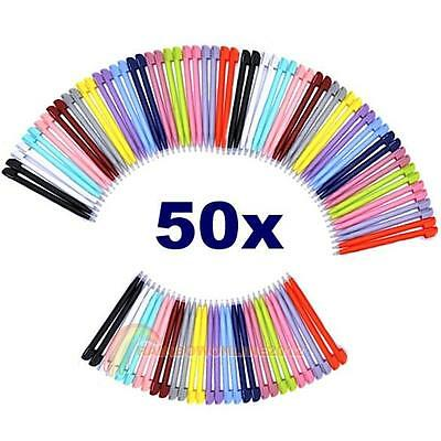 50x Multi Random Color Touch Screen Stylus Pen for NDS NINTENDO DS 3DS Lite NDSL