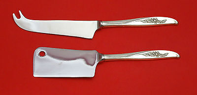 Penrose by Wallace Sterling Silver Cheese Server Serving Set 2pc HHWS  Custom