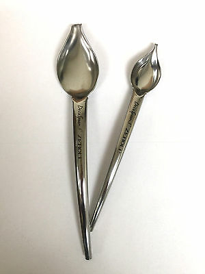 Zeroll Commercial Plate Decoration Deco Spoon / 1 Small & 1 Large Spoon 6100-Ds