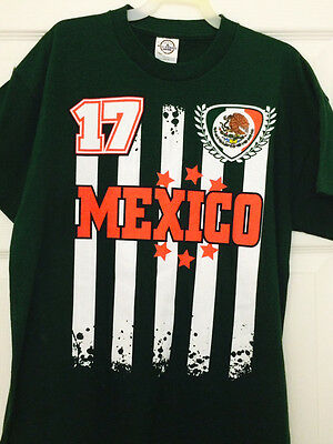 MEXICO SOCCER ADIDAS Men s 2018 FIFA World Cup t shirt green Medium ... 648b8dbba