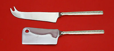 Trilogy By Gorham Sterling Silver Cheese Server Serving Set 2Pc Hhws Custom Made