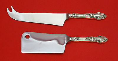 Violet By Wallace Sterling Silver Cheese Server Serving Set 2Pc Hhws Custom Made