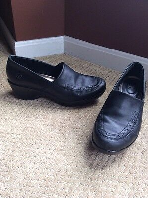 Ariat Genuine Leather Comfy Rubber Sole Wedges Sz 8B