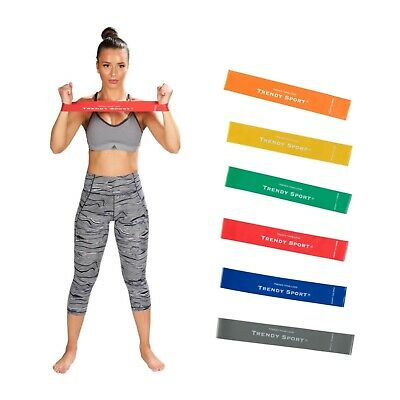 Trendy Tone-Loop Gymnastikband Übungsband Rubber Gummiband Expander Rubberband