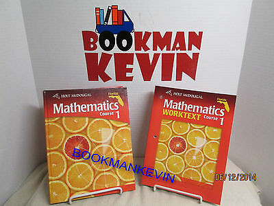 NEW HOLT CALIFORNIA Mathematics Course 2 Know It Notebook