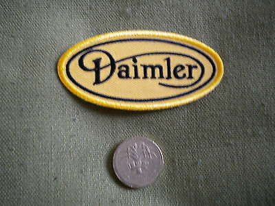 75mm DAIMLER LOGO MOTORING EMBROIDERED PATCH