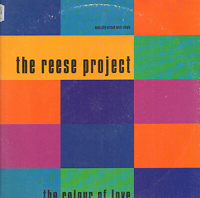 THE REESE PROJECT - The Colour Of Love - 1992 Giant Records Usa - 0-40401