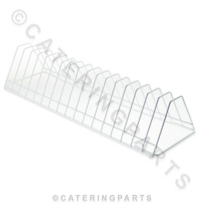 350Mm Plastic Coated Wire Plate Insert For Dishwasher Rack Holds 17 Plates