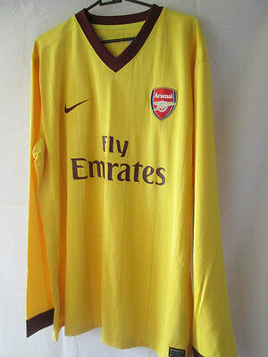bbbe935e08f Arsenal 2012-2013 Player Issue Away Football Shirt XXL Long Sleeves  14017