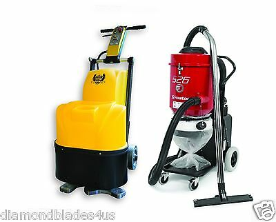 Concrete Genie Polisher / Vacuum Surface Prep Polishing bundle 2 Tools Floor **