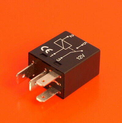 High Quality Micro Relay 12V 25 Amp 4 Pin Normally Open - EU Manufactured
