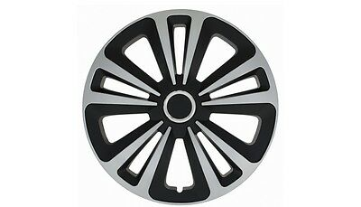 """Set Of 4 15"""" Wheel Trims To Fit Vw Golf 4  Golf 5, Golf 6, Polo + Free Gift #g"""