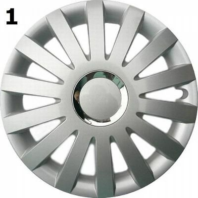 """Set Of 4 15"""" Wheel Trims To Fit Vw Golf V, Golf Vi, Polo + Free Gift #1"""