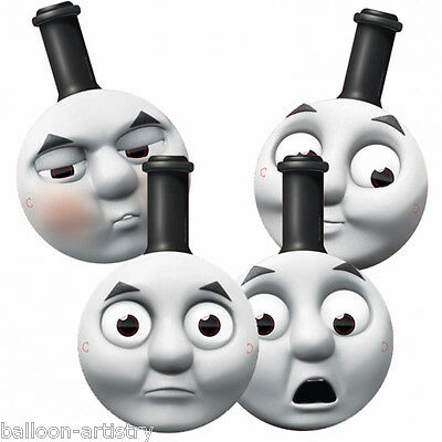 4 Thomas The Tank Engine Birthday FRIENDS Card Party Face Masks