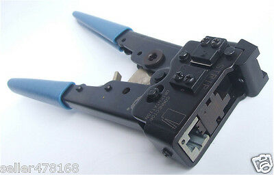Network Flat Cable Crimper Pliers Tools Stripping knife for 8P8C RJ-45 Ratchet