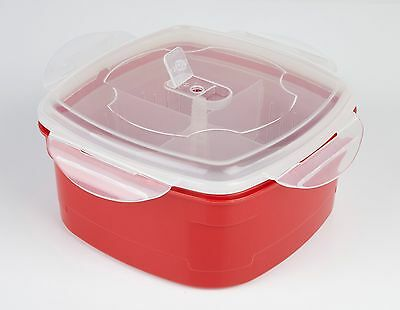 The Ultimate Microwave Steamer - Removable Dividers