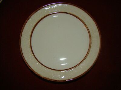STANGL POTTERY ALMOND LOT OF 2 DINNER PLATES EXCELLENT