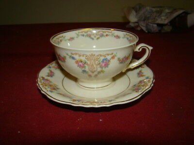 SYRACUSE MARIETTA LOT OF 3 CUPS & SAUCERS EXCELLENT