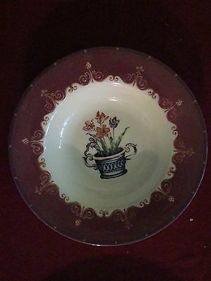 QUEEN'S CHINA HAMPTON COURT PALACE LOT OF 2 SOUP BOWLS FREE SHIPPING!