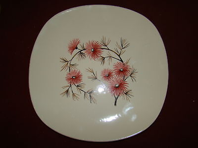 KNOWLES CORAL PINE K 4090 LOT OF 3  BREAD PLATES EXCELLENT
