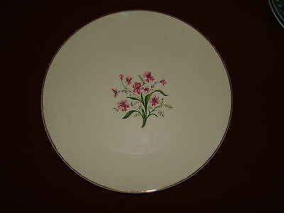 KNOWLES SPRING SONG LOT OF 4 BREAD PLATES EXCELLENT