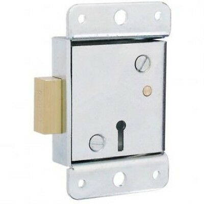 ROSS 6 Lever Safe Lock 206WL Winged Safe Lock-2 Keys-Free Post-08952450