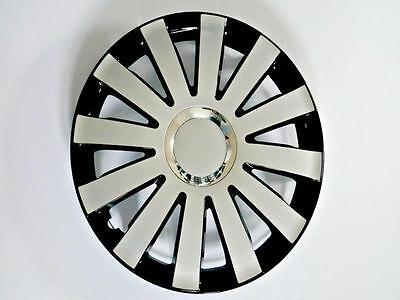 """Set Of 4 15"""" Wheel Trims To Fit Vw Golf V, Golf Vi, Polo + Free Gift #d"""