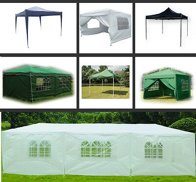 Waterproof Gazebo Outdoor Garden Marquee Canopy Party Tent Sidewalls Sides New