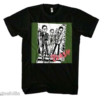 T-shirt The Clash First Album Logo maglia Uomo ufficiale music group