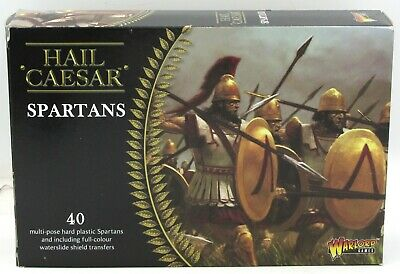 Hail Caesar WGH-GR-01 Spartans (40) Miniatures Ancient Greek Warriors Warlord