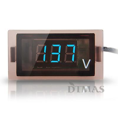 12V-24V Car Truck Digital Blue LED Voltmeter Voltage Panel Gauge