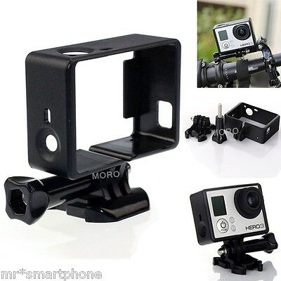 For GoPro Hero HD 3 3+ 4 Protective Housing Case Standard Border Frame Mount