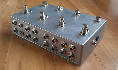 Programmable 8 Looper - Loop Pedal - True Bypass - Guitar Effects - Aluminium