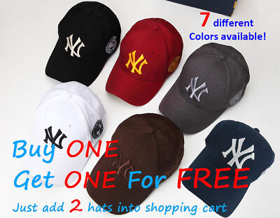 NEW New York NY Yankees Baseball Unisex Hat Cap Mens & Womens Cotton AU Stock