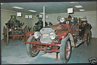 Transport Postcard - Firefighters Museum of Nova Scotia, Yarmouth, N.S - A6906