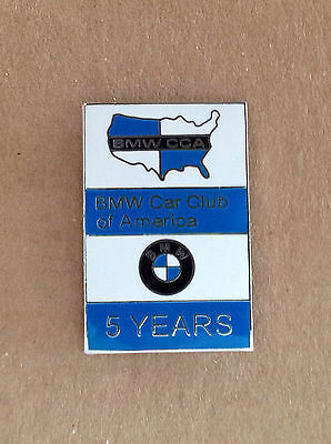 BMW CCA Car Club of America 5 Years Logo Lapel / Hat Pin  - NEW