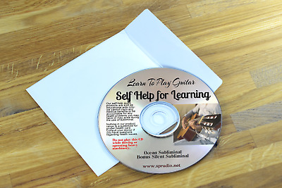 Learn to Play Guitar Subliminal Self Help CD
