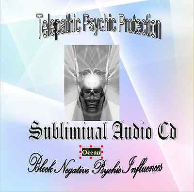 Subliminal CD Telepathic Psychic Protection / Block Negative Influences  Ocean