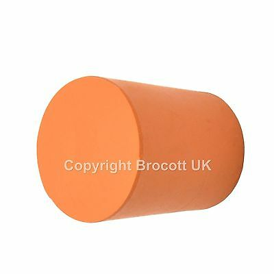 Solid Rubber Stopper, Rubber Bung - Size 19 (19Mm > 22Mm) - 10 Pack