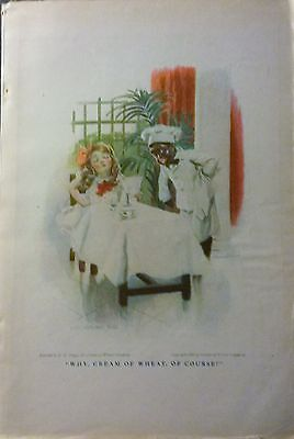 "May 1911 Magazine Page- ""why, Cream Of Wheat, Of Course!"" / Inside Cover Ad"