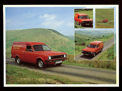 GB Post Office Royal Mail Postcard - Mail Van Black Mountains Unused #C11099