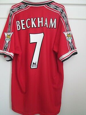 Manchester United 1998-2000 Home Football Shirt Size Adult Extra Large /14385