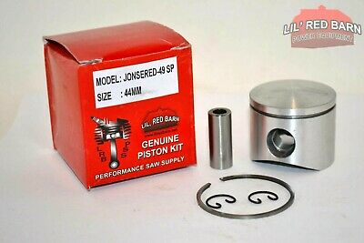Jonsered 49Sp, 51, 52 Piston Kit 44Mm Replaces Part # 504141201 , New